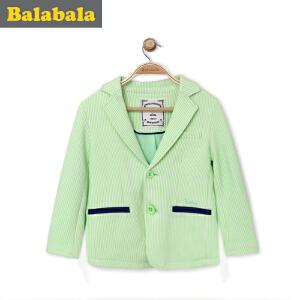 【6.26巴拉巴拉超级品牌日】巴拉巴拉童装男童西服小童宝宝上衣春装儿童短款休闲外套