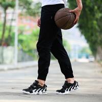 金帅威 情侣款帮网面透气篮球鞋男运动鞋气垫战靴运动鞋