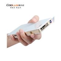 酷乐视(COOLUX) Q6旗舰版(NEW) 便携家用 智能投影机 (迷你微型投影仪 手机无线同屏)