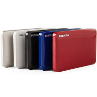 TOSHIBA/东芝 V8 CANVIO高端分享系列2.5英寸1t移动硬盘1TB USB3.0正品
