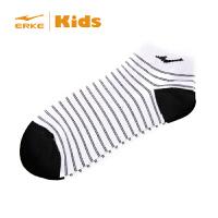 【鸿星尔克童鞋】儿童袜子 春秋薄款短袜 船袜舒适男女童袜子