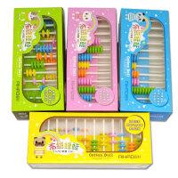 【当当自营】爱好 布绒娃娃十二行计数器 儿童算盘 小学生教具益智奖品礼物3437