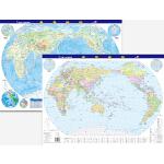 世界地图(挂墙与桌面两用版)