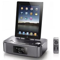 飞利浦 DC295苹果音响iphone6 5S/ipad4mini手机底座 收音机闹钟