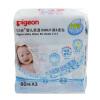 【当当自营】Pigeon贝亲 婴儿柔湿巾湿巾湿纸巾 80片*3包 PL135 贝亲洗护喂养用品