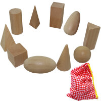 立体几何体神秘袋蒙特梭利教具儿童早教益智认知积木宝宝玩具