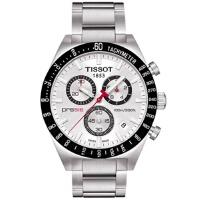 Tissot/天梭 PRS516系列三眼计时优雅天梭男表T044.417.21.031.00 手表