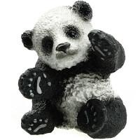 [当当自营]Schleich 思乐 野生动物系列 玩耍状熊猫幼崽 仿真塑胶动物模型收藏玩具 S14734