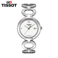 全球联保瑞士天梭TISSOT时尚石英手表T084.210.11.017.00钢带女表