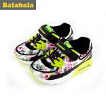 巴拉巴拉童鞋女童时尚印花跑步鞋中大童鞋子春装儿童潮流运动鞋女