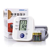 欧姆龙血压计上臂式家用电子血压计 上臂式全自动电子血压计 HEM-8102A  自动记忆读出 扇形臂带 大屏高清显示 上臂式血压计 家用血压计  配送电池