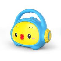 [当当自营]小鸡叫叫 卡通迷你小音箱儿童早教故事机可充电下载胎教音响早教机 蓝色基础版8G