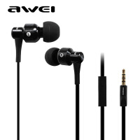 【正品包邮】Awei/用维 500I入耳式金属重低音面条多彩小米手机立体声耳机