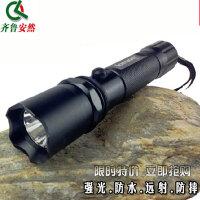 充电强光手电筒远射三档可调光户外骑行装备远射防水迷你 家用防水爆闪光LED小手电探照灯