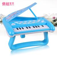 俏娃宝贝儿童玩具电子琴婴幼儿益智玩具琴宝宝音乐培养乐器