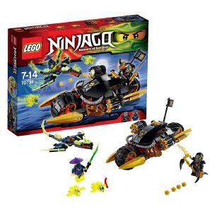 [当当自营]LEGO 乐高 NINJAGO幻影忍者系列 寇的武装重机车 积木拼插儿童益智玩具 70733