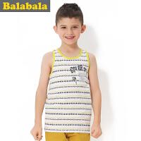 巴拉巴拉balabala童装男童时尚背心中大童儿童夏装新款