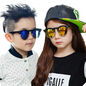 KK树儿童眼镜亲子太阳镜 男童宝宝眼镜小孩墨镜潮女童蛤蟆镜