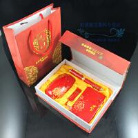 中国红 青花瓷 移动电源套装 无线鼠标U盘 可定制logo