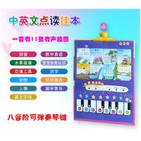 全套有声挂图点读挂本发声幼儿宝宝看图识字卡早教启蒙书儿童玩具AF25664