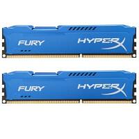 Kingston/金士顿 骇客神条 Fury系列 DDR3 1866 16G (8Gx2条)台式机内存条 HX318C10FK2/16