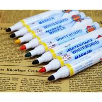 东洋彩色白板笔可擦幼教笔8色可擦笔套装儿童涂鸦笔可擦白板笔
