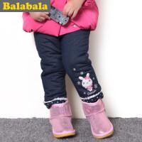 巴拉巴拉balabala童装女童可爱时尚长裤幼童宝宝裤子2015儿童冬装新款