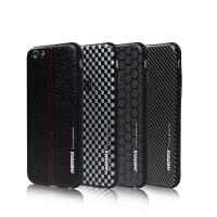 【包邮】Remax 苹果6plus手机壳 iPhone6plus手机保护套5.5寸皮纹手机软壳