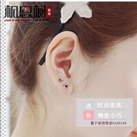 相思树 5.5mm迷你星星925银耳钉女款气质时尚韩版五角星耳环耳饰防过敏生日礼物