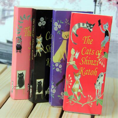 【猫咪书签 卡片|贺卡 一盒28张手绘猫