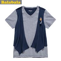 5.25抢购价:39元 巴拉巴拉balabala男童短袖T恤夏装新款童装
