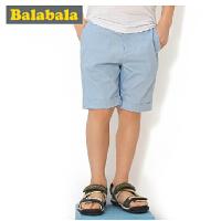 巴拉巴拉童装男童时尚休闲中裤中大童五分裤儿童夏装新款潮