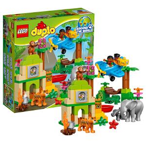 [当当自营]LEGO 乐高 得宝系列 丛林动物 积木拼插儿童益智玩具 10804