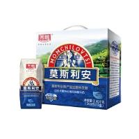 【本来生活】光明 莫斯利安钻石包巴氏杀菌酸牛奶(原味) 200g×12