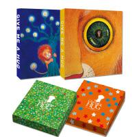 几米《拥抱》系列笔记本:爱写爱画之星星+月亮(套装共2册)