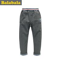巴拉巴拉balabala童装男童时尚百搭 长裤中大童裤子儿童冬装新款