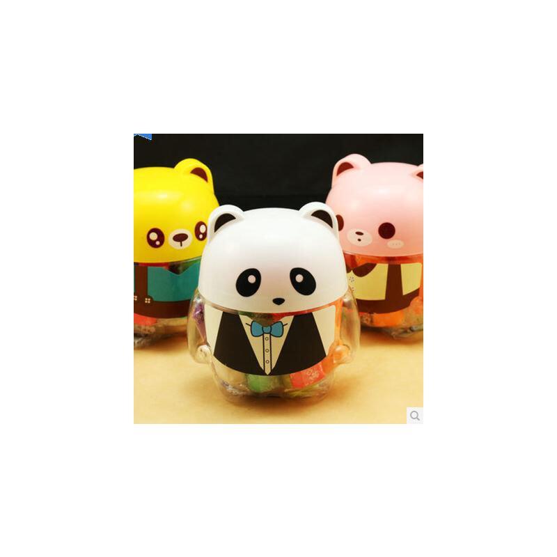 用橡皮泥做手工动物熊猫
