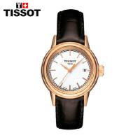 Tissot 瑞士TISSOT天梭卡森石英女表T085.210.36.011.00皮带手表