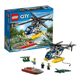 [当当自营]LEGO 乐高 CITY城市系列 直升机追踪 积木拼插儿童益智玩具 60067