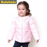 巴拉巴拉balabala童装女童羽绒服幼童宝宝上衣2015儿童冬装新款