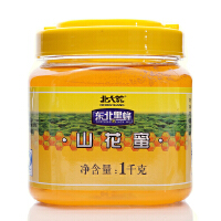 [当当自营] 北大荒 东北黑蜂山花蜂蜜1kg