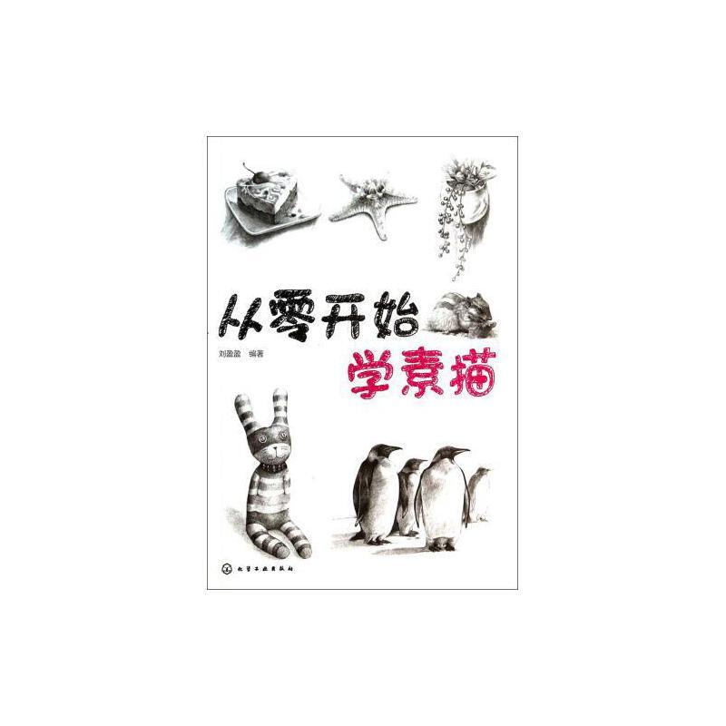 从零开始学素描 刘盈盈 正版书籍