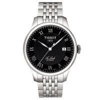 天梭(TISSOT)手表力洛克系列商务机械男表T41.1.483.53