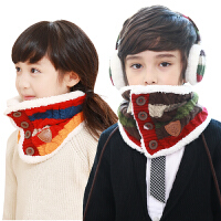 韩国kocotree儿童围巾秋冬季小孩宝宝围脖潮版保暖加绒男女童围巾