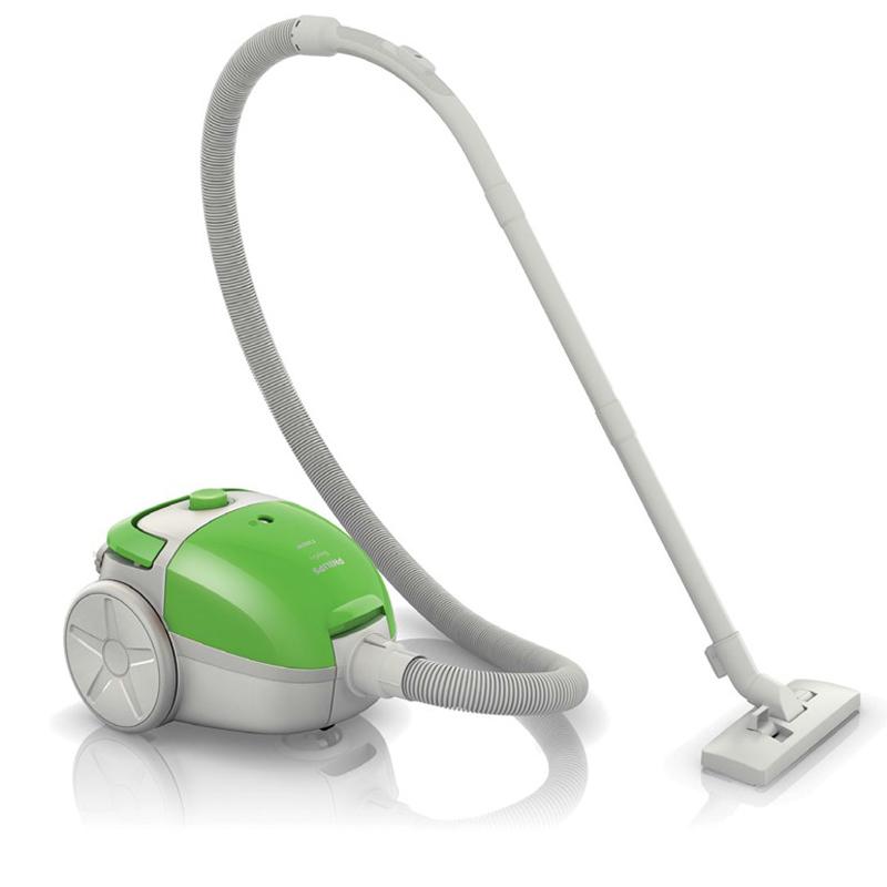 【当当自营】 飞利浦(Philips) 吸尘器 FC8083/81 家用尘袋式(苹果绿)1200瓦大功率