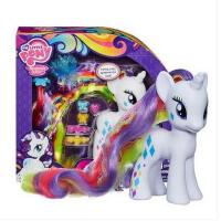小马宝莉彩虹系列 6英寸华小马白色珍奇换装女孩玩具模型