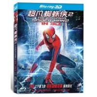 电影 3D 超凡蜘蛛侠2 蓝光碟 BD50 安德鲁・加菲尔德 现货