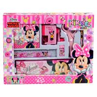 迪士尼(Disney)DM6049-5B文具礼盒套装女/儿童文具套装7件套时尚大礼包粉红 当当自营