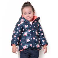 巴拉巴拉童装女童羽绒服幼童宝宝上衣2015冬装新款儿童外套两面穿
