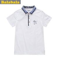 5.25抢购价:49元 巴拉巴拉balabala 男童时尚 潮 短袖T恤 夏装新款童装